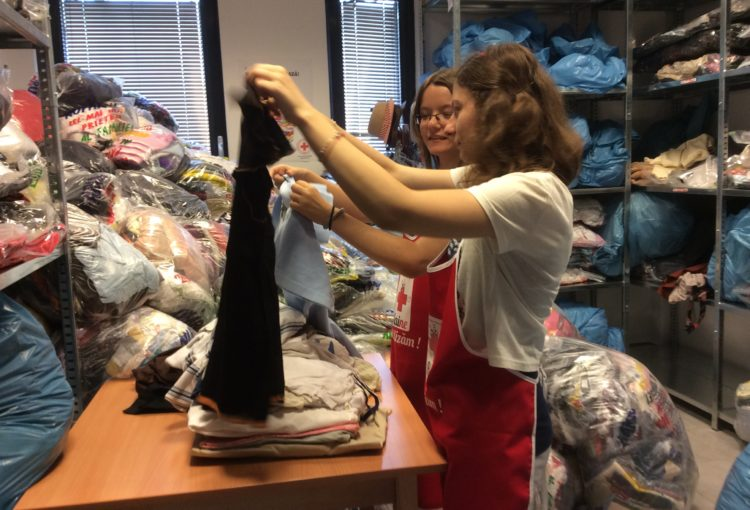 Donații haine