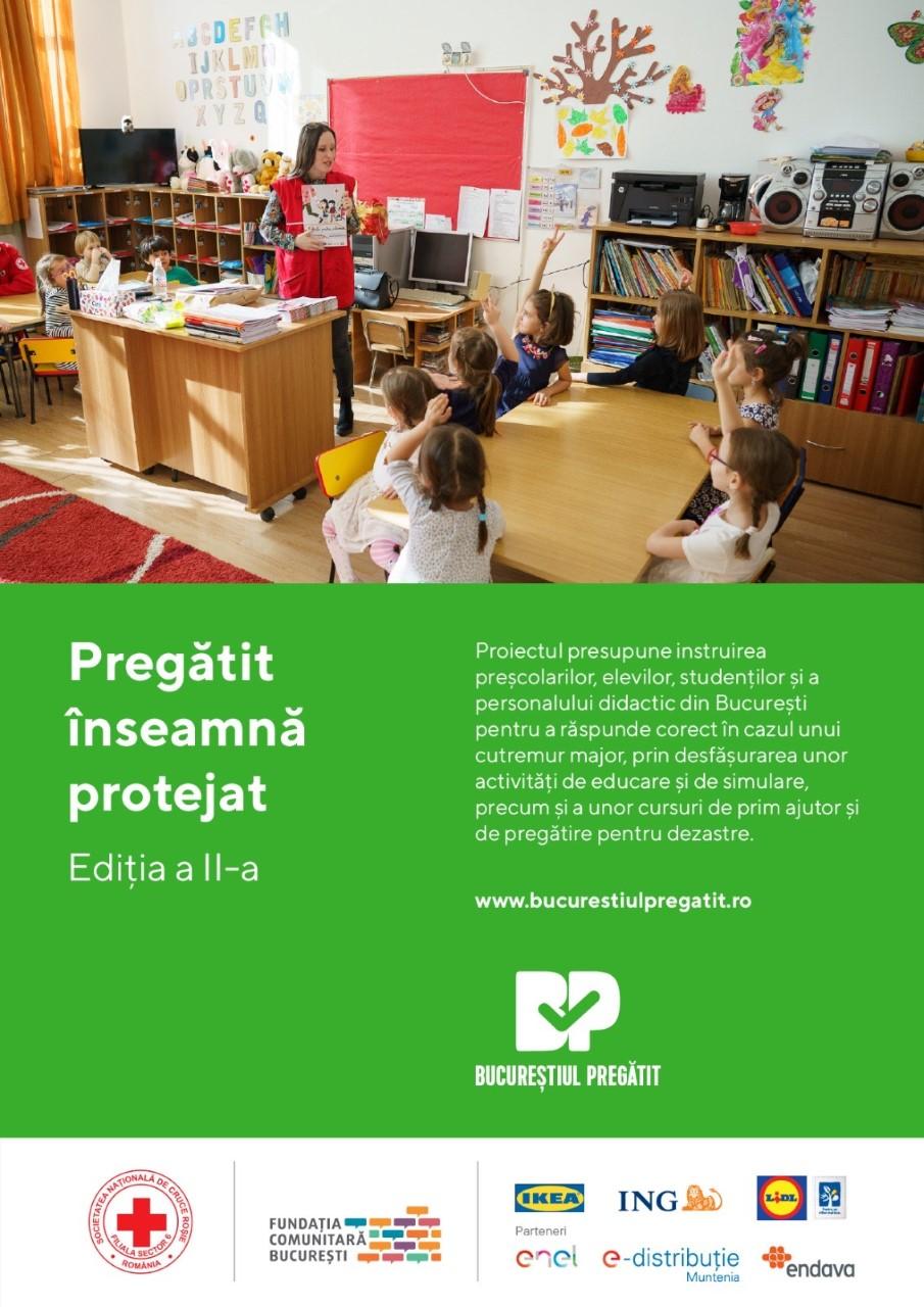 """Comunicat de presă: Lansare proiect """"Pregătit înseamnă protejat"""" – II"""