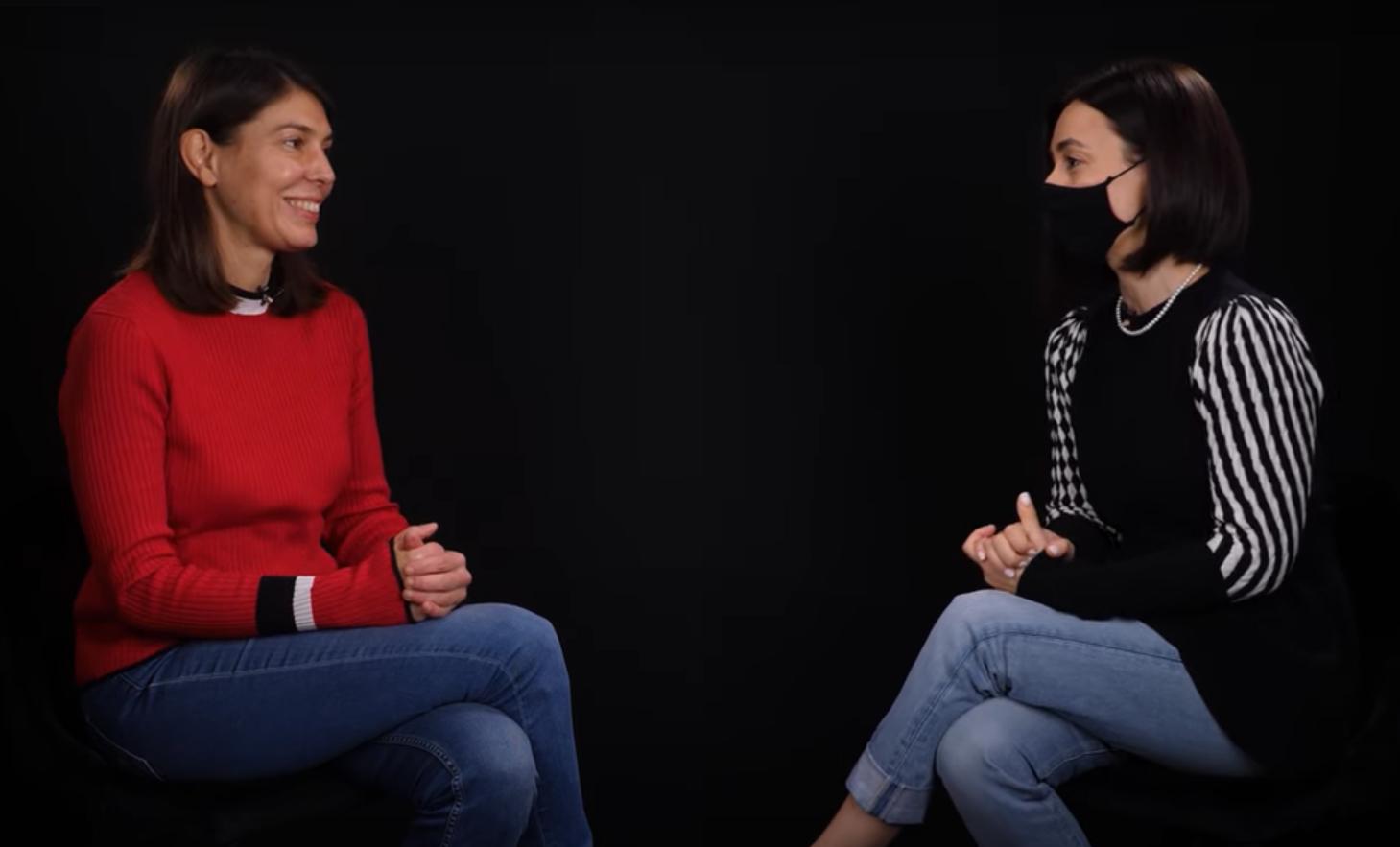"""Ana Derumeaux, în dialog cu Lorena Buhnici: """"Nu este doar despre haine!"""""""